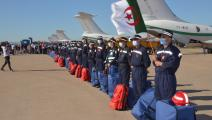 مساعدات جزائرية تصل مطار بيروت