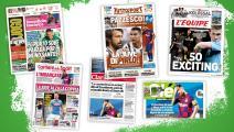 """""""درس تاريخي وانتصار القرن""""...صحف العالم تتفاعل مع """"فضيحة"""" برشلونة"""