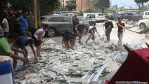 انفجار بيروت/حسين بيضون