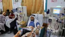 انقطاع التيار الكهربائي في المستشفيات - غزة(عبد الحكيم أبو رياش/العربي الجديد)