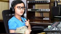 محمد حسنين مذيع باكستاني طفل- الرئيسية