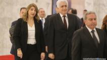 وزيرة العدل اللبنانية ماري كلود نجم-حسين بيضون
