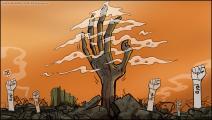 كاريكاتير ثورة بيروت / حجاج
