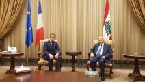 زيارة إيمانويل ماكرون إلى لبنان-الرئاسة اللبنانية