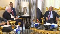سياسة/علي محسن صالح وغريفيث/(تويتر)
