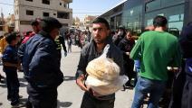 الخبز في الأردن/ فرانس برس