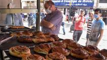 أسواق الجزائر/ فرانس برس