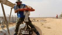 غلق مضخة النفط الرئيسية في تطاوين بتونس / فرانس برس