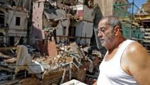 انفجار بيروت- فرانس برس