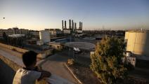 كهرباء غزة/ فرانس برس