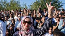 مظاهرات كردستان/ فرانس برس