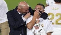 Hazard and Zidane