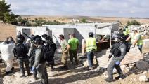 يواصل الاحتلال ممارسات الهدم في مسافر يطا الفلسطينية (فيسبوك)
