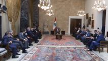 شركات التأمين عند رئيس الجمهورية اللبنانية (دالاتي نهرا)