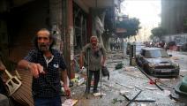 انفجار لبنان (حسين بيضون/العربي الجديد)