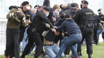 اعتقال مرتزقة فاغنر في بيلاروسيا