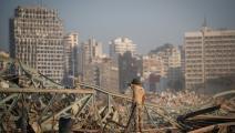 انفجار مرفأ بيروت أدى لمقتل 158 شخصاً على الأقل ةإصابة أكثر من 6000 (Getty)