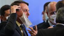 الرئيس البرازيلي بين في كماشة بين تدهور صرف العملة وتزايد تفشي كورونا