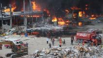 حريق مرفأ بيروت/سياسة/حسين بيضون