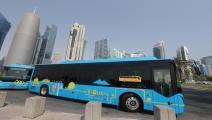 حافلات كهربائية في قطر / العربي الجديد