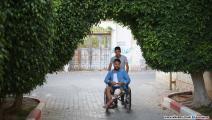 ذوي الإعاقة بغزة (عبد الحكيم أبورياش)