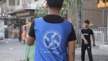 مبادرة تشجير تطوعية في العاصمة العراقية بغداد (فيسبوك)