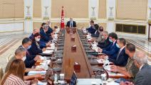 اجتماع مجلس الأمن القومي في تونس (فيسبوك)