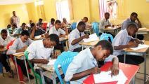 امتحانات الشهادة الثانوية - السودان (تويتر)