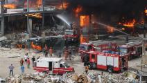 حريق مرفأ بيروت- حسين بيضون