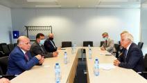وزير الخارجية العراقي فؤاد حسين/جوزيب بوريل/ الخارجية العراقية/ تويتر
