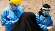 أطباء- العراق (حسين فالح/فرانس برس)