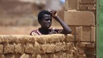 الفقر في السودان/ فرانس برس