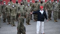 دونالد ترامب الجيش ROBERTO SCHMIDT / AFP