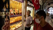 متجر ذهب في تركيا/Getty