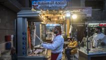 انتشار كبير للمطاعم السورية في مصر (خالد دسوقي/فرانس برس)