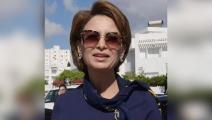 القاضية إشراف شبيل زودة الرئيس التونسي (تويتر)