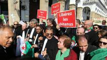 مظاهرة احتجاجية سابقة للمحامين الجزائريين (العربي الجديد)