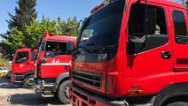 ثمة إهمال من قبل النظام السوري في العمل على مكافحة الحرائق (Getty)