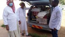 السلطات الجزائرية بدأت بارسال أدوية لمناطق البدو الرحل الذين مسهم وباء الملاريا (فيسبوك)