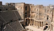 المدرج الروماني في بصرى (ويكيبيديا)