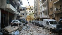 بيروت 2020: خراب أزقّة ونفوس (باتريك باز/ فرانس برس/ Getty)
