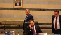 سياسة/سعد الحريري وباسيل/(حسين بيضون/العربي الجديد)