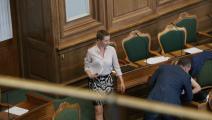 رئيسة وزراء الدنمارك ميتا فريدركسن (ناصر السهلي)
