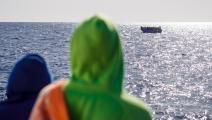 لا خيار سوى الهجرة (بابلو غارسيا/ فرانس برس)