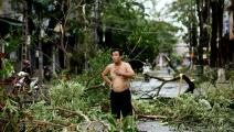 إعصار فييتنام (مانان فاتسيايانا/ Getty)