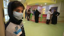 طفل مصاب بالسرطان في العراق(حيدر محمد علي/ فرانس برس)