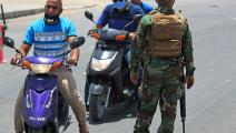 حاجز أمني في العراق (أحمد الربيعي/ فرانس برس)