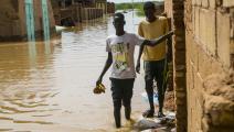 السيول في السودان (محمود حجاج/ الأناضول)