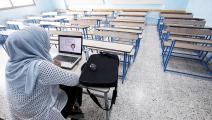 مدرسة في الكويت (ياسر الزيات/ فرانس برس)