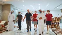 إنفانتينو يشيد باستعدادات قطر للمونديال